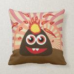Hot Volcano Monster Pillows