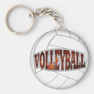 Hot Volleyball Keychain
