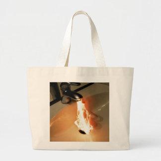 Hot Water Large Tote Bag