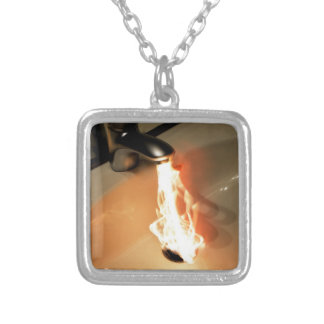 Hot Water Silver Plated Necklace