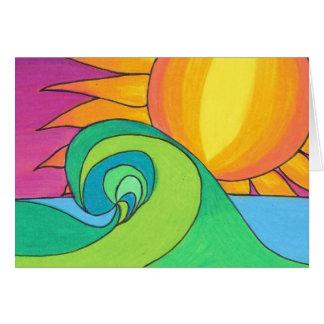 Hot Wave Card