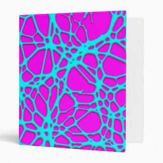 hot web turqoise pink (C) Binders