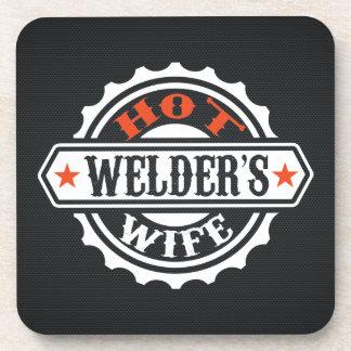 Hot Welder's Wife Beverage Coaster
