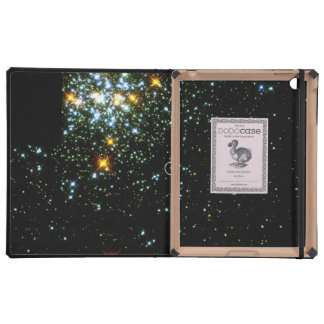 Hot White Dwarf Shines in Young Star Cluster NGC 1 iPad Folio Cases