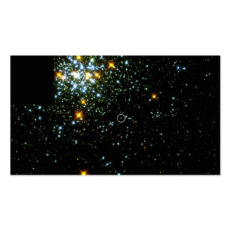Hot White Dwarf Shines in Young Star Cluster NGC 1 Double-Sided Standard Business Cards (Pack Of 100)