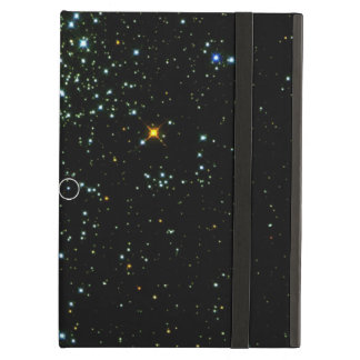 Hot White Dwarf Shines in Young Star Cluster NGC 1 iPad Air Cover
