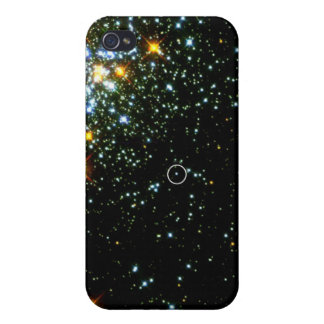 Hot White Dwarf Shines in Young Star Cluster NGC 1 iPhone 4 Cases