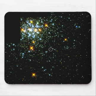 Hot White Dwarf Shines in Young Star Cluster NGC 1 Mouse Pad