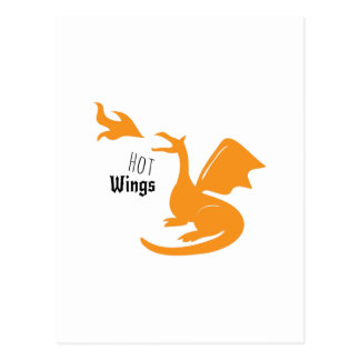 Hot Wings Post Cards