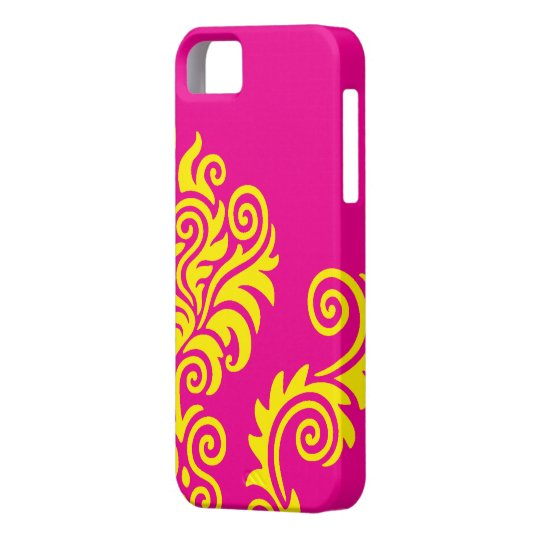 Hot wink and Yellow iPhone SE/5/5s Case