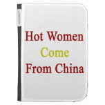 Hot Women Come From China Kindle Keyboard Case