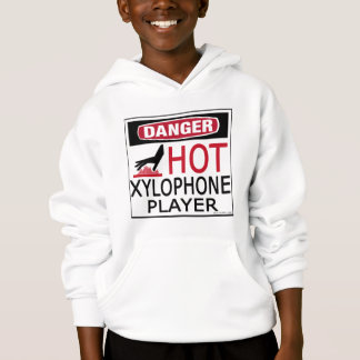Hot Xylophone Player Hoodie