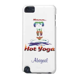Hot Yoga/Personalize Name iPod Touch (5th Generation) Cover