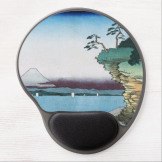 Hota Coast in Boshu (Vintage Japanese Art) Gel Mouse Pad