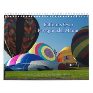 Hotair Balloons Calendar