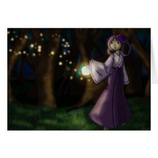 Hotaru Spirit Keeper Greeting Card