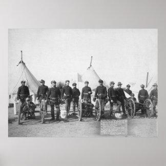 Hotchkiss Guns: 1891 Poster