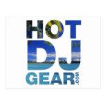 HOTDJGEAR Beach - DJ Djing Summer Music Postcards