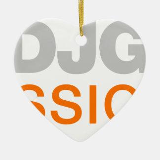 Hotdjgear Professional DJ Ceramic Ornament