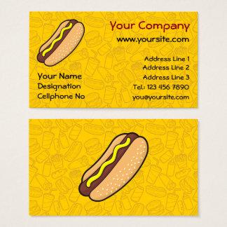 Hotdog Business Card