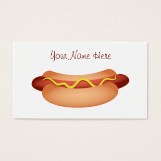 Hotdog Business Card
