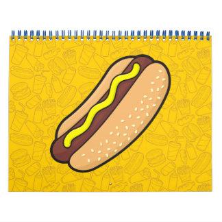 Hotdog Calendar