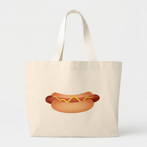 Hotdog Canvas Bags