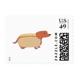 Hotdog Dog Postage