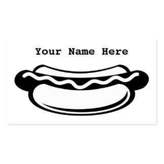 Hotdog Double-Sided Standard Business Cards (Pack Of 100)