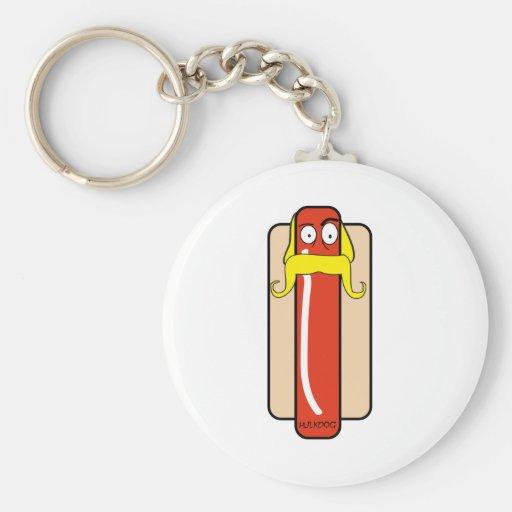 Hotdog Hulk Hogan Key Chain
