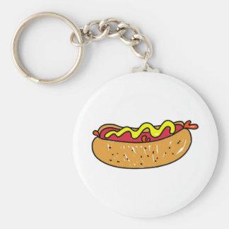 Hotdog Key Chains