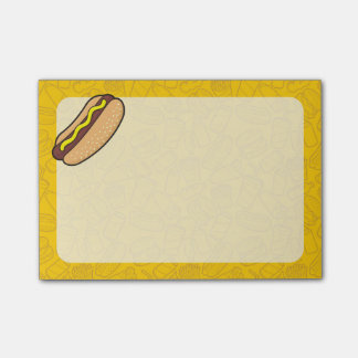 Hotdog Post-it Notes