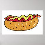 Hotdog Print