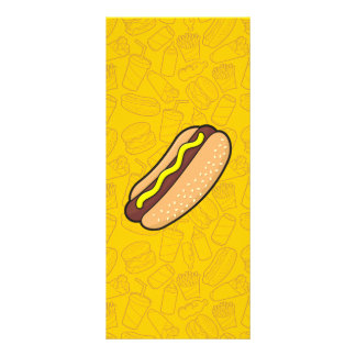 Hotdog Rack Card
