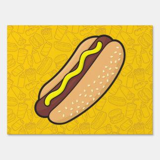 Hotdog Sign