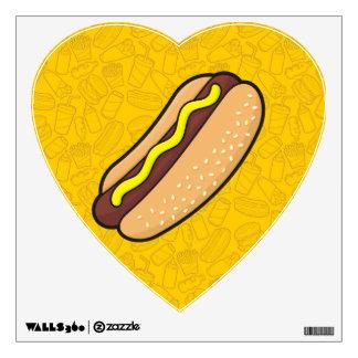 Hotdog Wall Sticker
