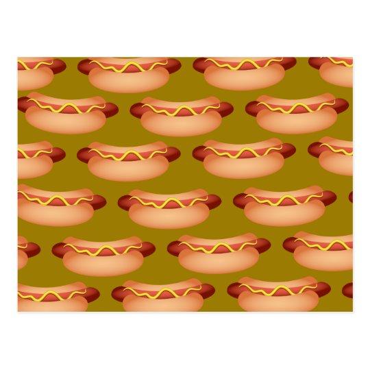Hotdog Wallpaper Postcard