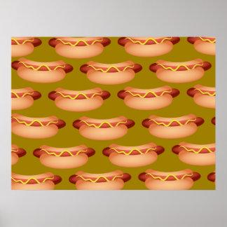 Hotdog Wallpaper Poster