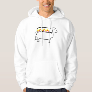 Hotdog Wiener Dog Hoodie