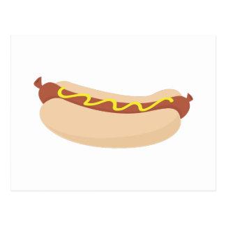 Hotdog with Mustard Postcard