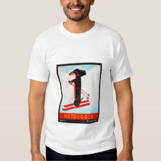 Hotdoggin - Stephen Huneck T Shirt