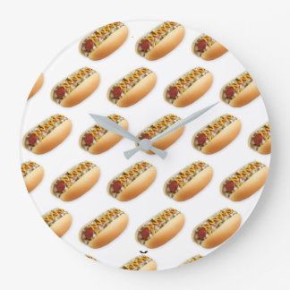 ***HOTDOGS GALORE*** CLOCK