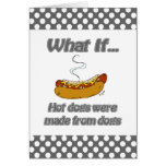 Hotdogs Greeting Cards