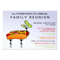Hotdogs, Pickles & Ants Family Reunion Invitation