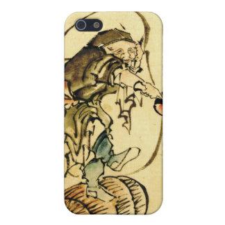 Hotei, dios de la buena fortuna 1840 iPhone 5 protectores