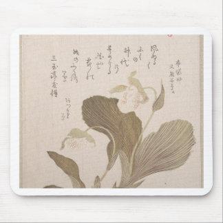 Hotei Flowers - Kubo Shunman (Japanese) Mouse Pad