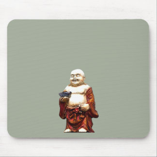 Hotei Laughing Buddha Mouse Pad