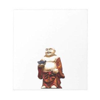 Hotei Laughing Buddha Notepad