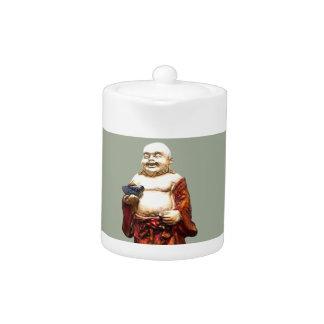 Hotei Laughing Buddha Teapot