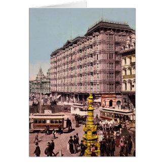 Hotel 1904 del palacio de San Francisco California Tarjeta De Felicitación